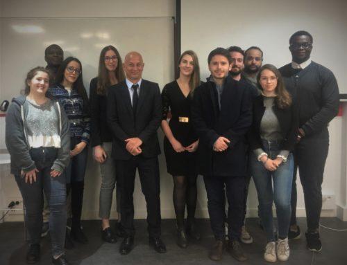 Conférence sur la » Criminalité transnationale et blanchiment»